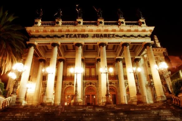 Teatro Juaürez in Guanajuato City, Mexico