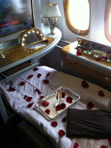 Emirates First Class on the 777