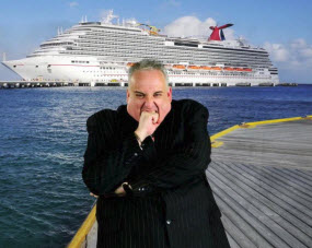 John Heald of Carnival Cruise Lines' Facebook Page