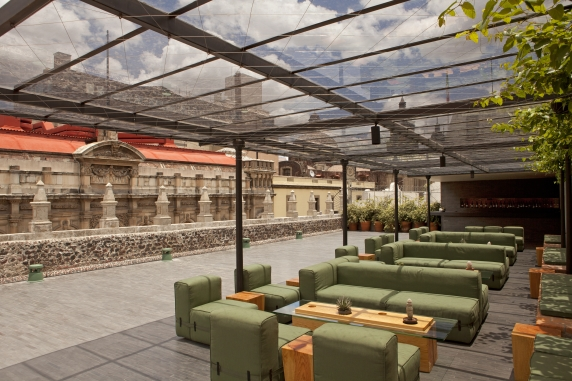 Rooftop Terrace at Downtown Hotel, Mexico City