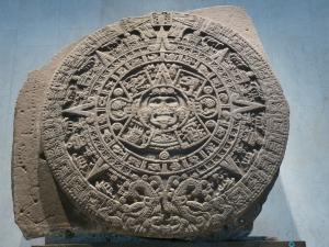 Picture of a Mayan Calendar