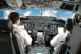 Qantas cockpit