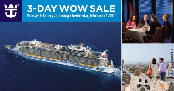Royal Caribbean WOW Sale