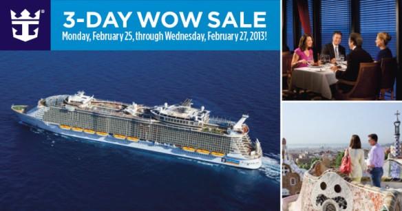 Royal Caribbean WOW Sale