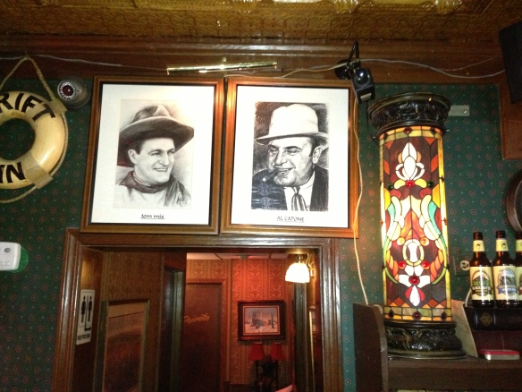 Picture of Tom Mix & Al capone
