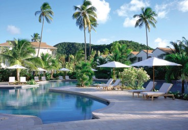 Carlisle Bay, Antigua Pool Area