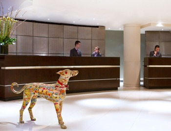 One Aldwych, Covent Garden lobby