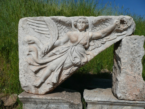 Goddess Nike at Ephesus