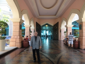 The entrance to Atlantis, The Palm Dubai