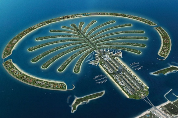 Palm Island, Dubai UAE