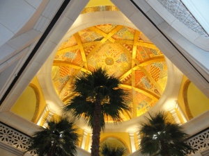 Lobby of the One&Only Royal Mirage