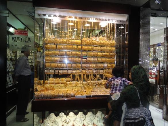 Dubai's Gold Souk market