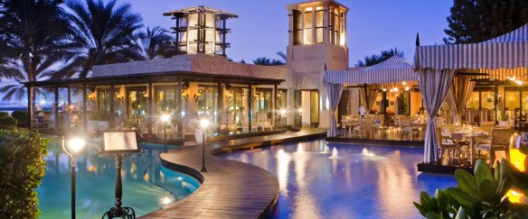 Eauzone Restaurant at One&Only Royal Mirage