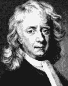 Fmaous mathematician Isaac Newton