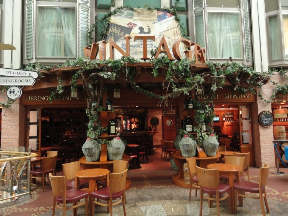 Vintages on the Navigator of the Seas