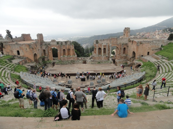 Taormina's Greek Theater
