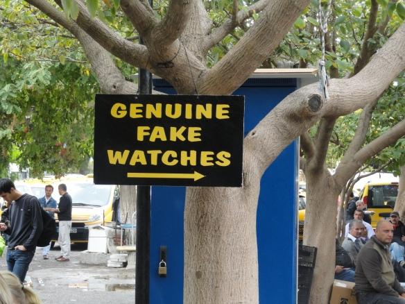 Sign in Ephesus market