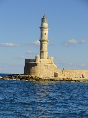 Lighthouse in Chania, Crete