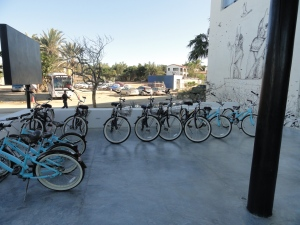 Bicycles at El Ganzo