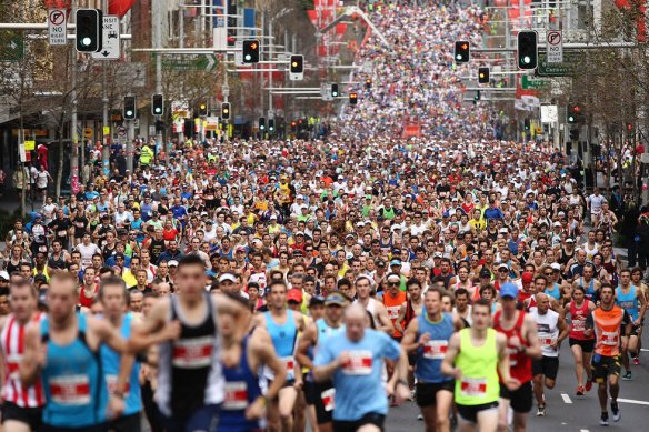 City2Surf race in Sydney Australia