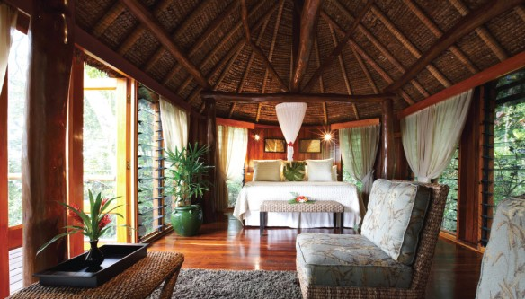 Honeymoon room at Natale Fiji