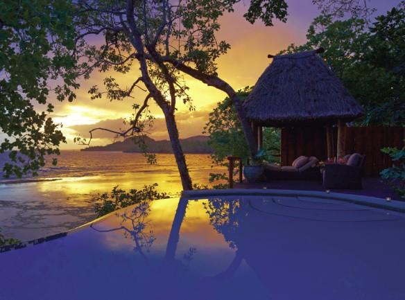 Sunset at Namale Fiji
