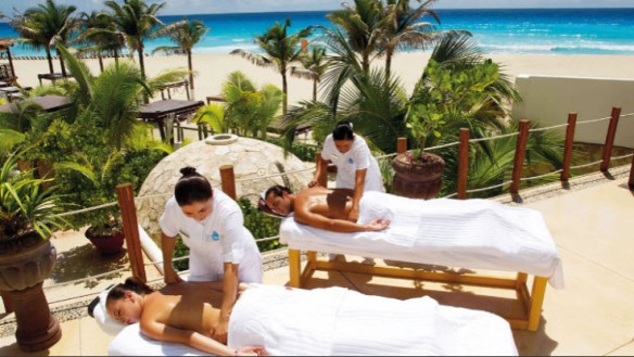 Couple Massage at Hyatt Zilara Cancun