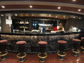 MSC Yacht Club bar