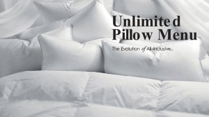 Unlimited Pillow Menu