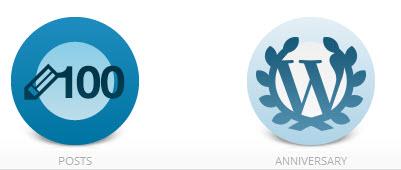 Wordpress badges