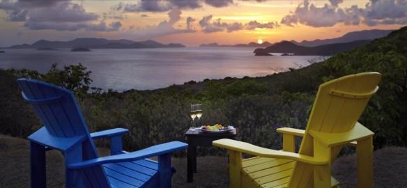Peter Island Sunset