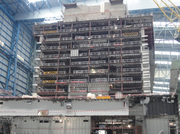 Anthem of the Seas under construction