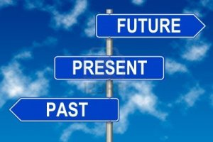 past-present-future-traffic-sign-on-a-sky-background