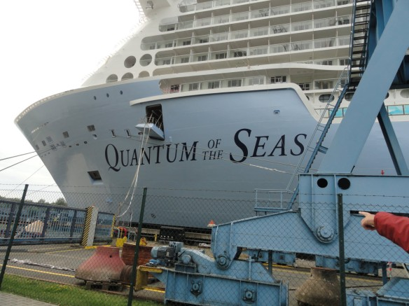 Quantum of the Seas in Papenburg