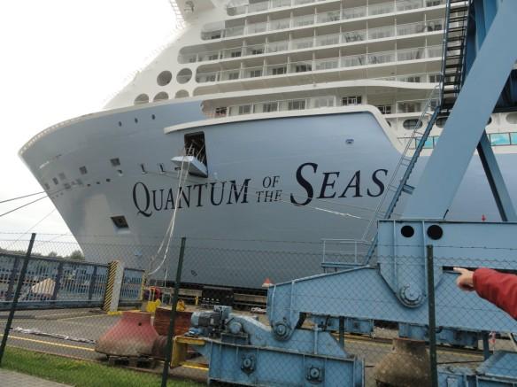 Quantum of the Seas in Papenburg