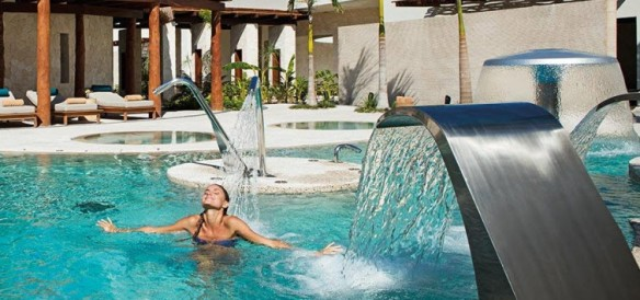 Hydrotherapy Circuit at Secrets Akumal Spa